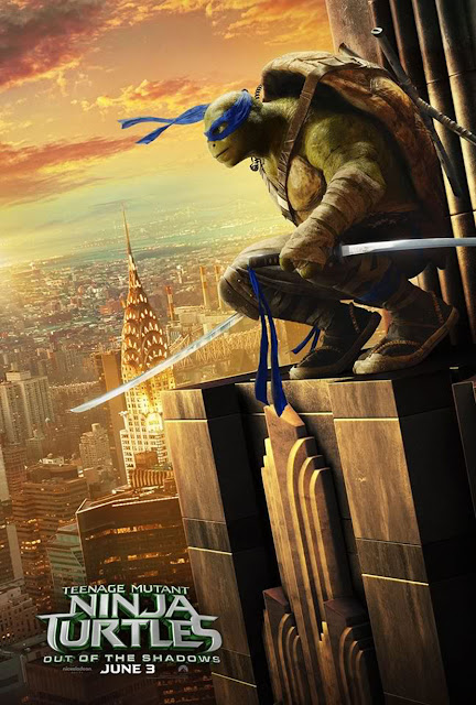 teenage mutant ninja turtles 2 character posters