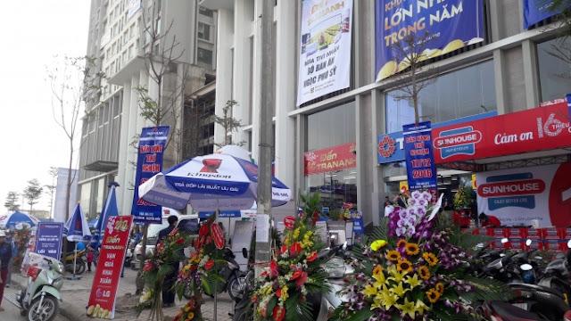 Khai trương siêu thị điện máy Trần Anh tại toà CT2 Eco green city