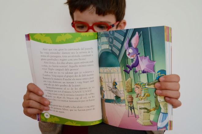 colección Bat Pat, interior cuentos, libros infantiles