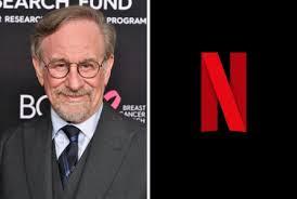 Photo of film maker Steven Spielberg.