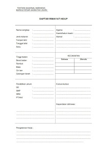 Kelengkapan Dokumen TNI 1