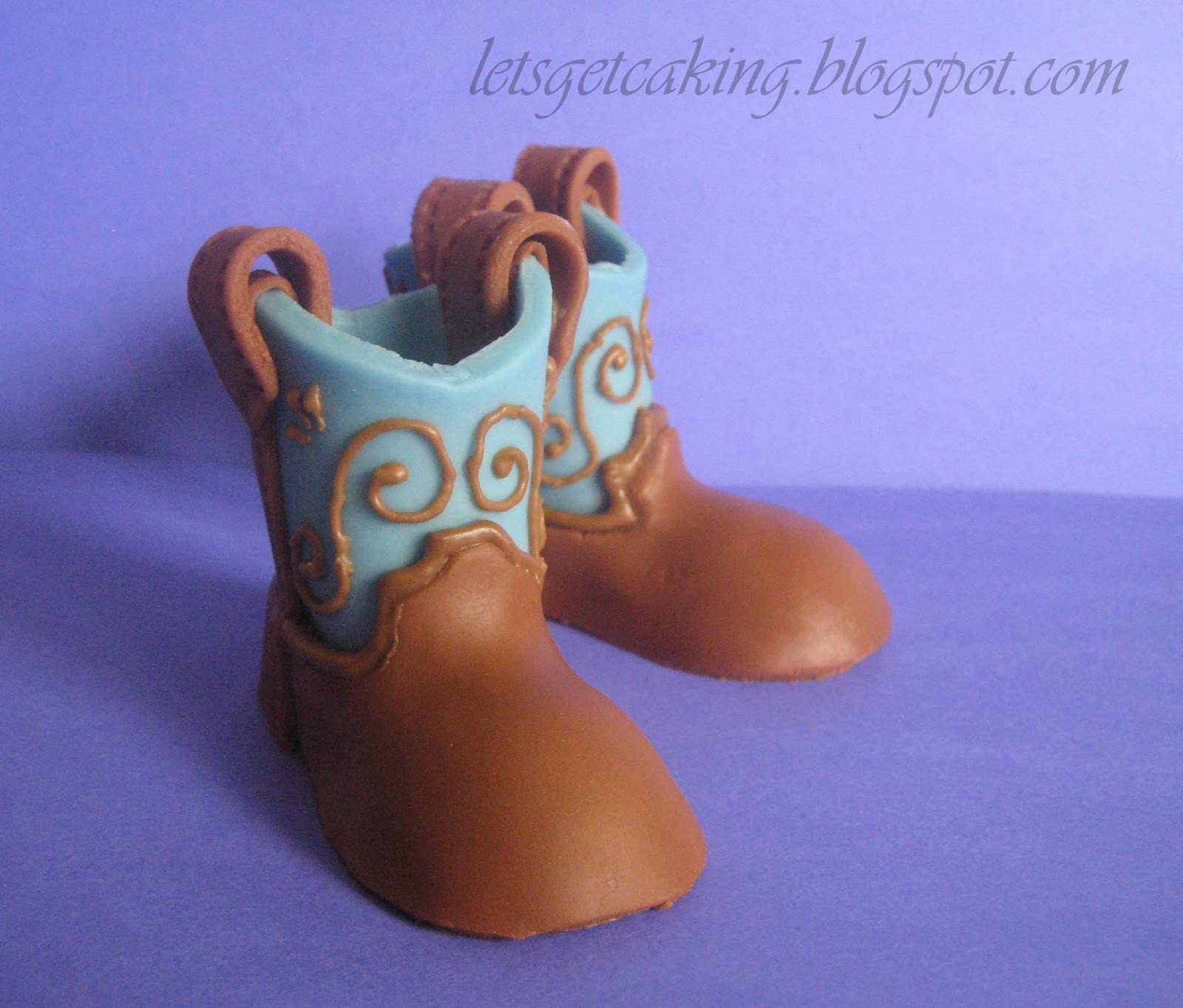 Baby Blue Cowboy Boots