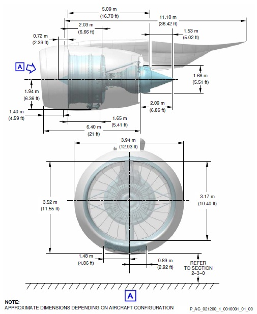 a diagram of engine nacelle propeller engine diagram