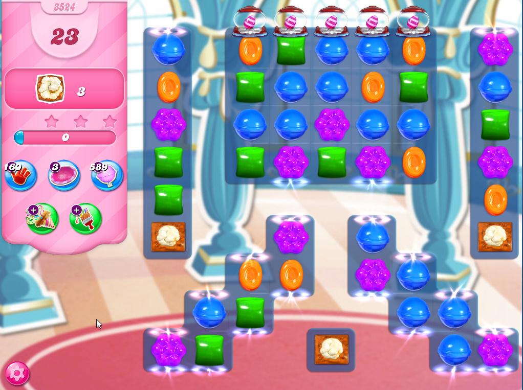 Candy Crush Saga level 3524