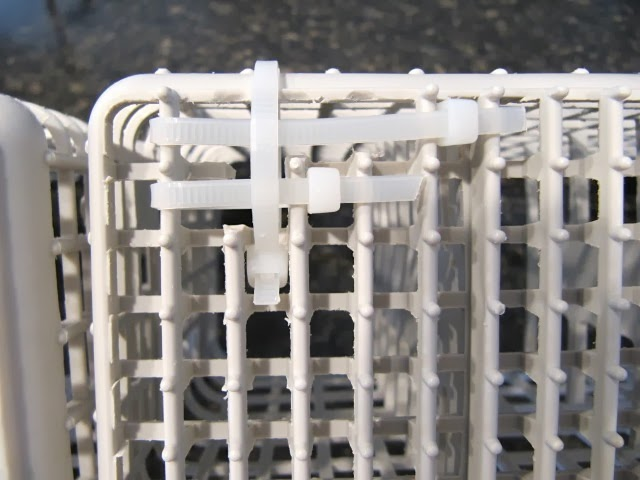 dishwasher basket repair