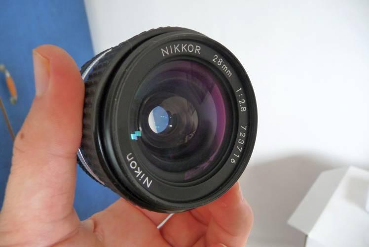 Nikon 28mm f2 8 (AI-s) ~ The Lens Fixer (and few Cameras)