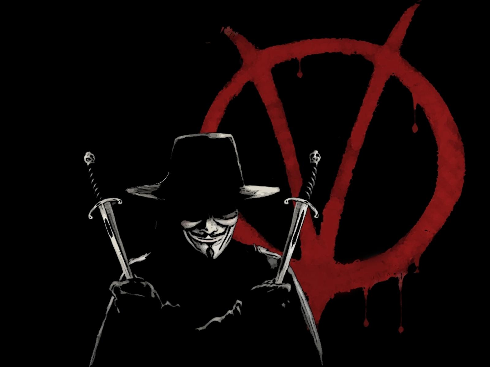 HD V For Vendetta Wallpaper-High Definition Wallpapers Stock