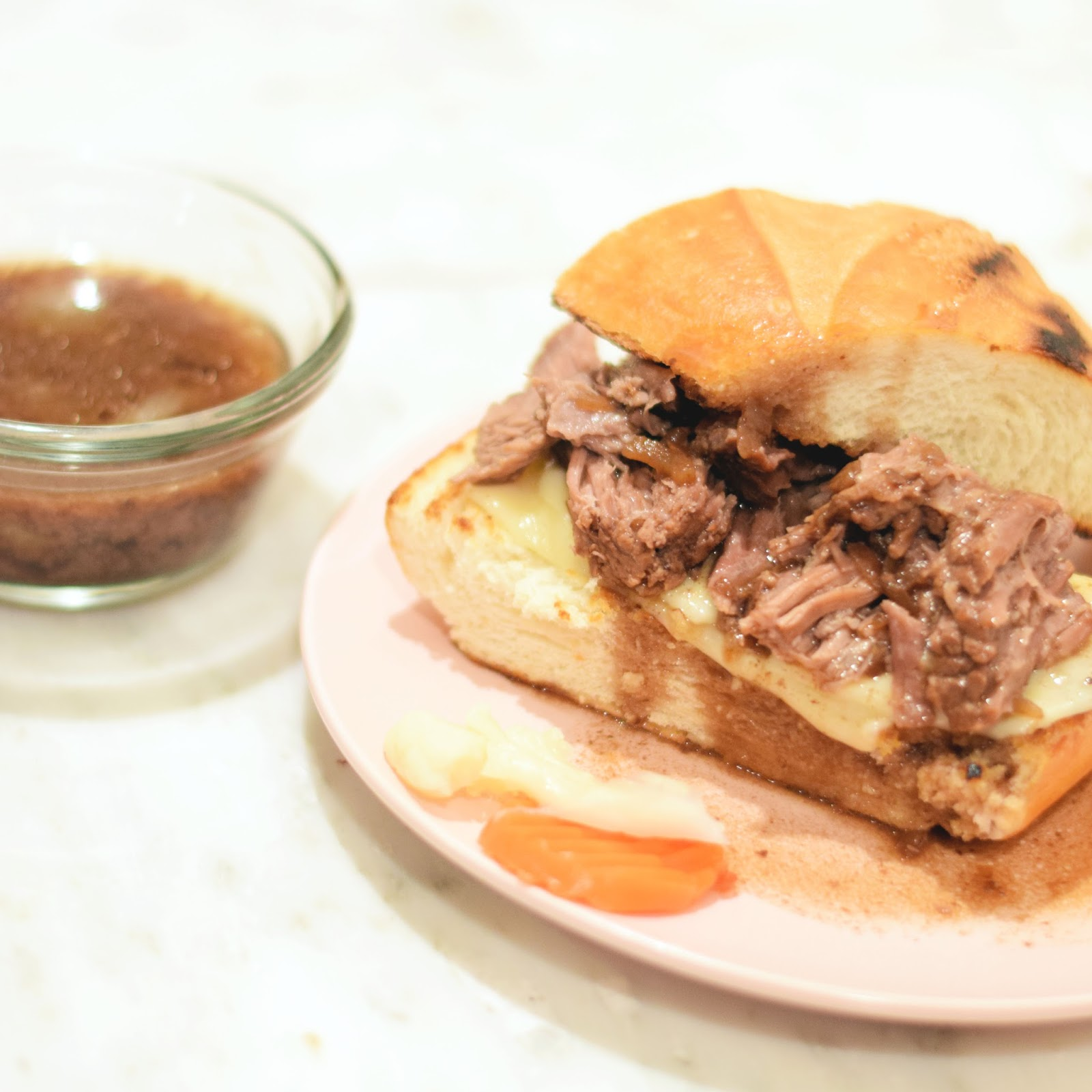 french dip slow cooker receipe
