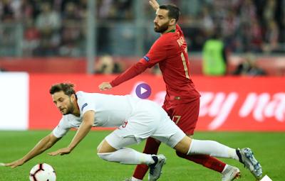 مشاهدة اهداف مباراة بولندا والبرتغال في دوري الأمم الأوروبية