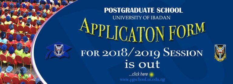 UI Postgraduate form
