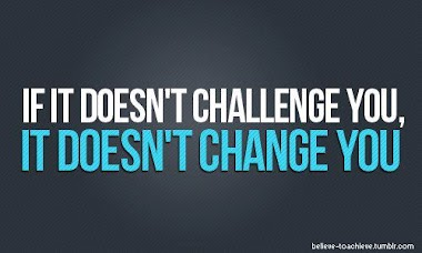 Does Challenge Intimidate You?