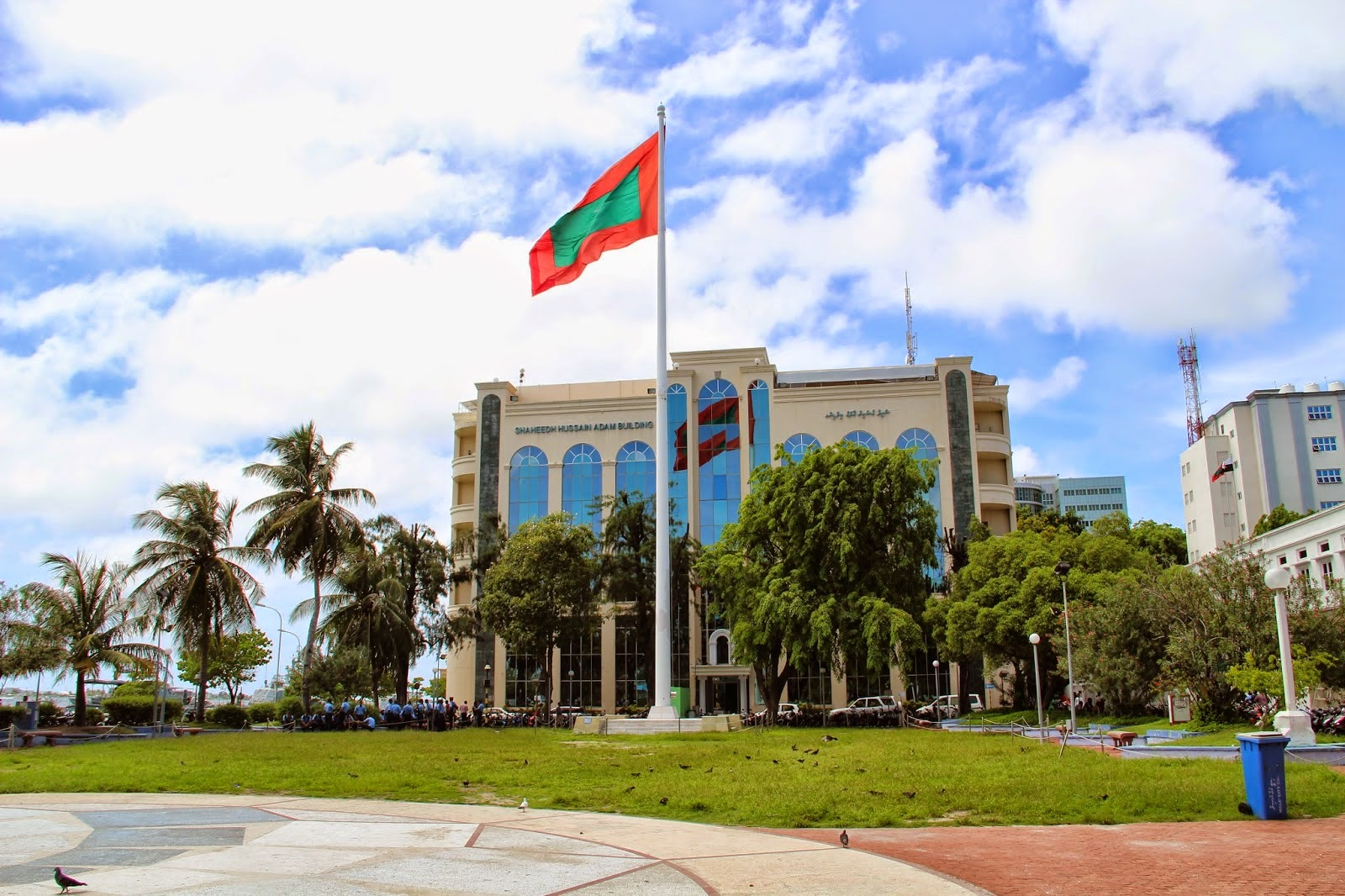 Republic Square Male Maldives