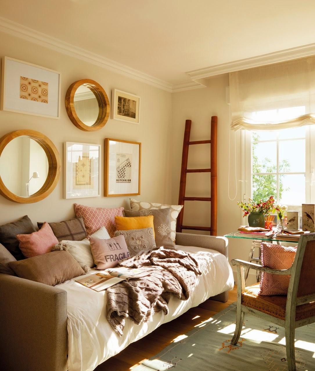 Habitacion de invitados o despacho y porque no dos en for Sofa cama 2 metros