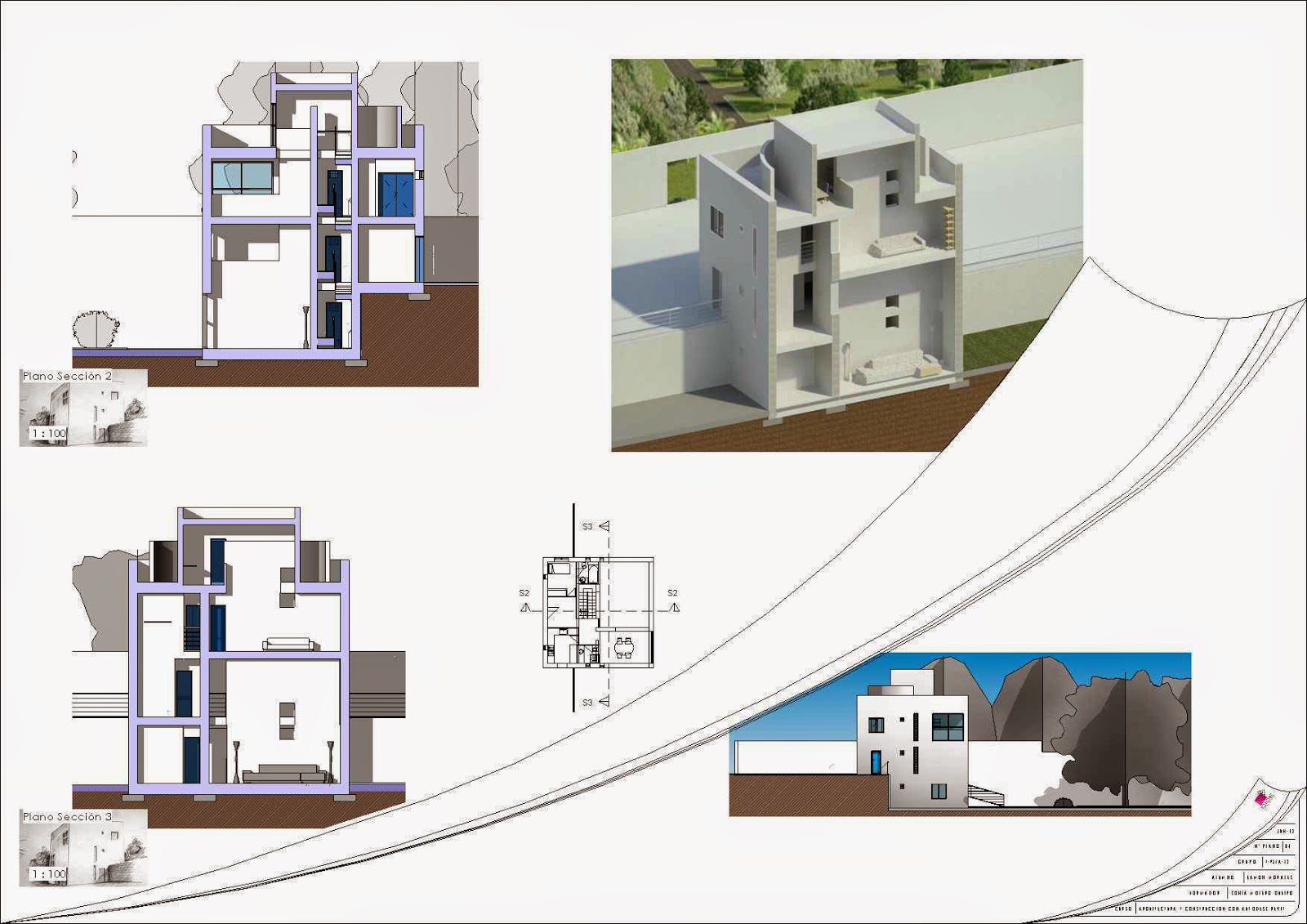 Revit practica turegano cice eamon morales for Pie de plano arquitectonico pdf