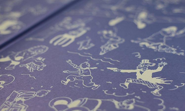 unboxing, globo livros, aventuras de tintim, tintim, hergé, graphics