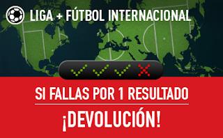 sportium Fútbol: Combinadas con seguro 10-11 noviembre