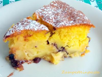 Torta con mele e Nutella - Ricette con la Nutella