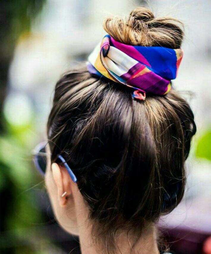penteados charmosos com coque