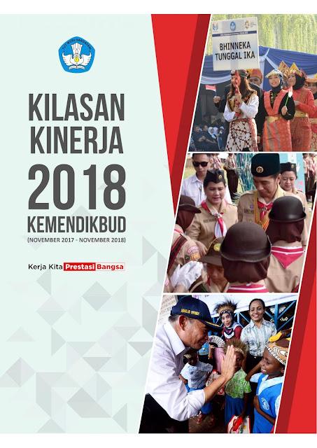 Download Buku Kilasan Kinerja Kemendikbud Tahun 2018