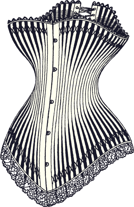 Corsets in Differents Colors.
