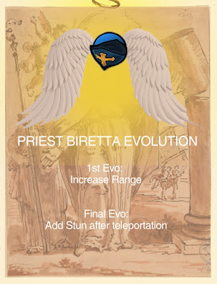 Priest Biretta Evolution Lost Saga Indonesia