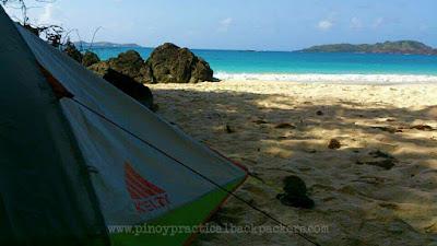 Kelty Zenith 2, Calaguas Island, Whitesand Beach, Unspoiled Beach
