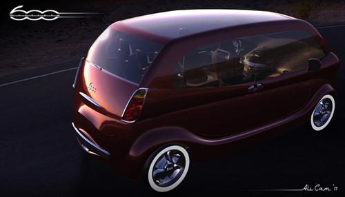 [Spyshots] Les inconnus - Page 6 Fiat-600-Multipla-Vorto-1