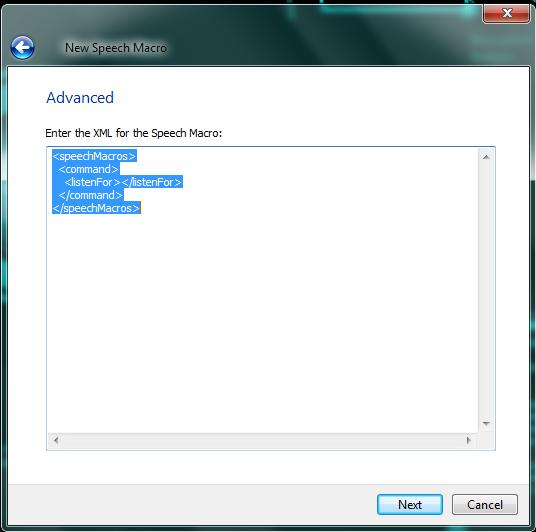 windows speech recognition macros jarvis