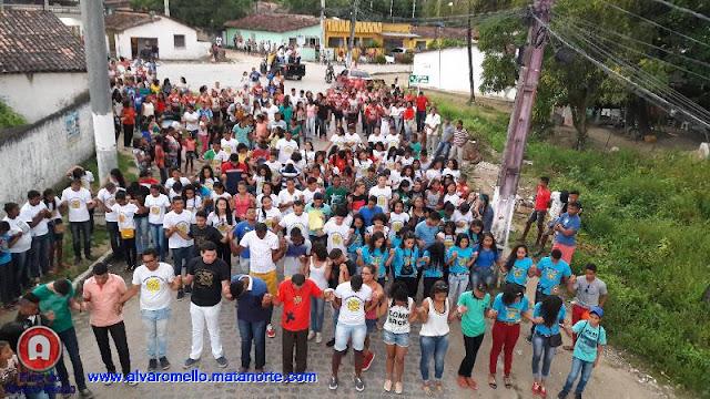Religião: Oficialização do CJC, reúne centenas de jovens em Tejucupapo