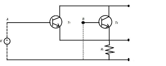 Rangkaian gerbang OR dengan transistor