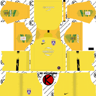 Johor-Darul-Takzim-JDT-nike-kits-2019-dream-league-soccer-%2528goalkeeper-away%2529