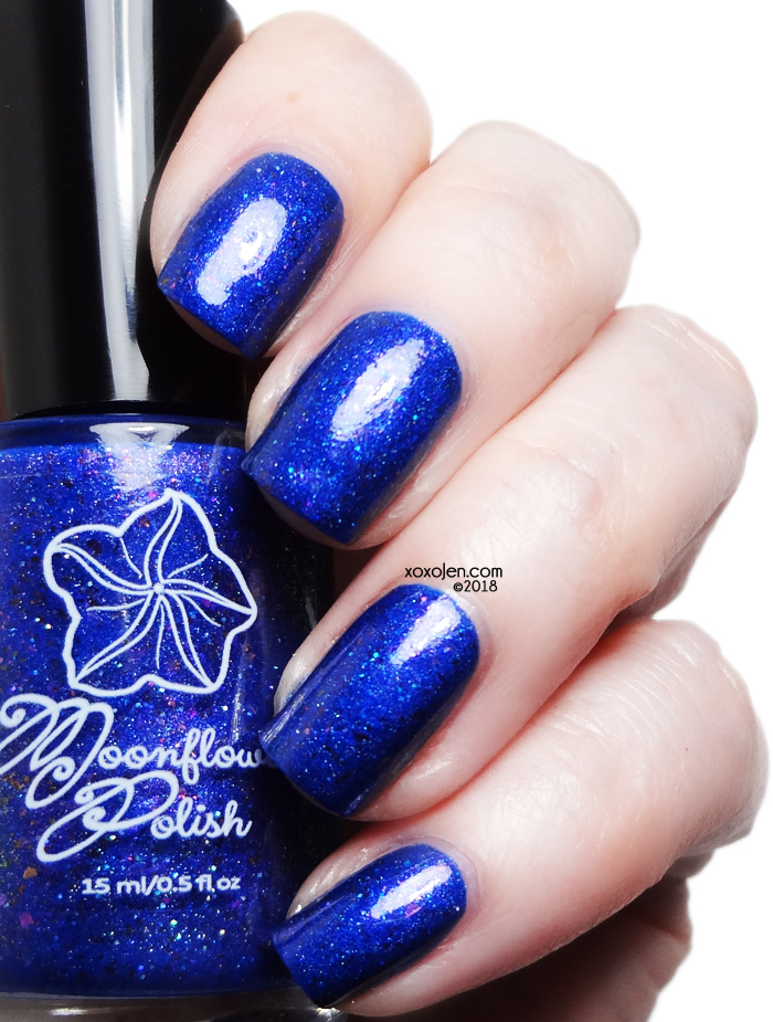 xoxoJen's swatch of Moonflower Polish Hope of the Brave
