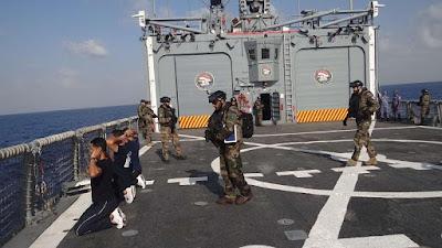 القوات البحرية المصرية, القوات البحرية الفرنسية, تدريب عابر بالبحر المتوسط,