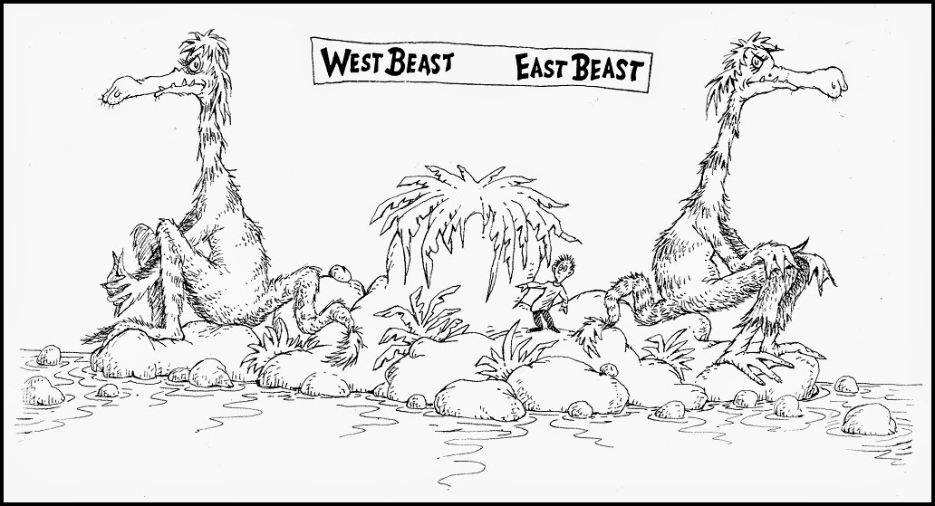 Drawing Post: Dr. Seuss from Then to Now ~ 1986 [feedly]