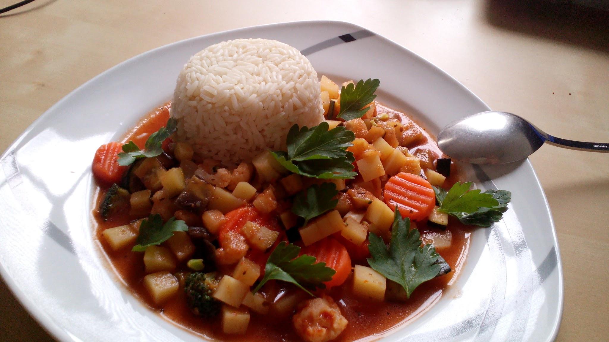 Scharfes Gemüse-Curry