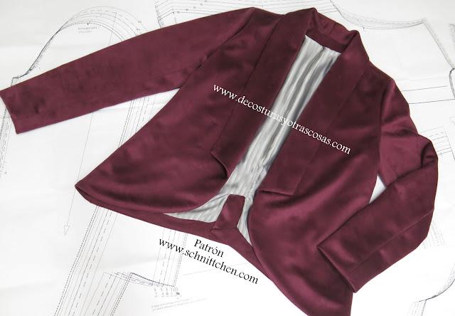 Tutorial paso a paso para la confección de una chaqueta