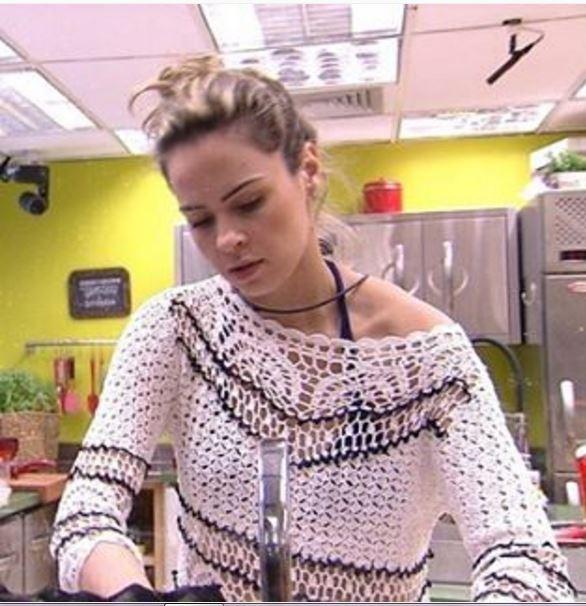 Ana Paula BBB16, roupas crochê, big brother brasil