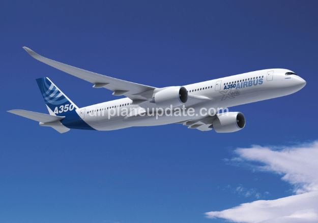 Airbus A350-900 jet