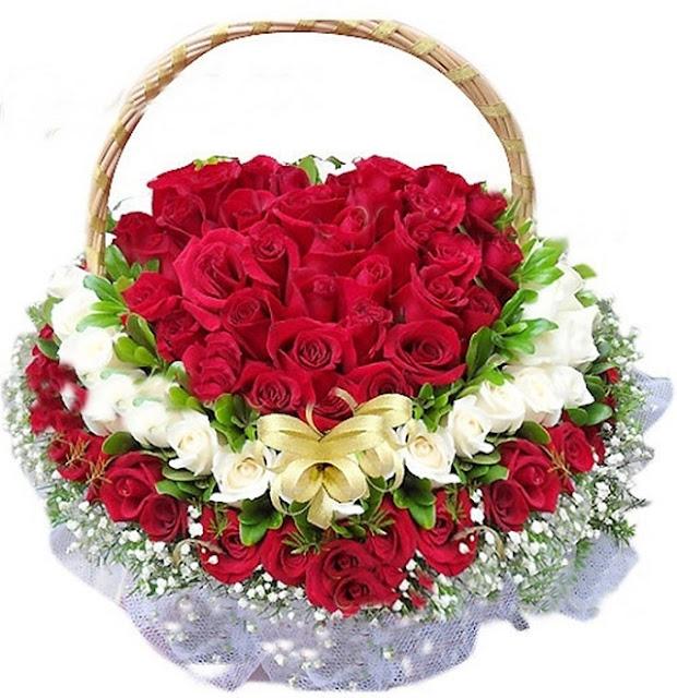 Những bó hoa hồng đẹp dành tặng sinh nhật bạn gái 7