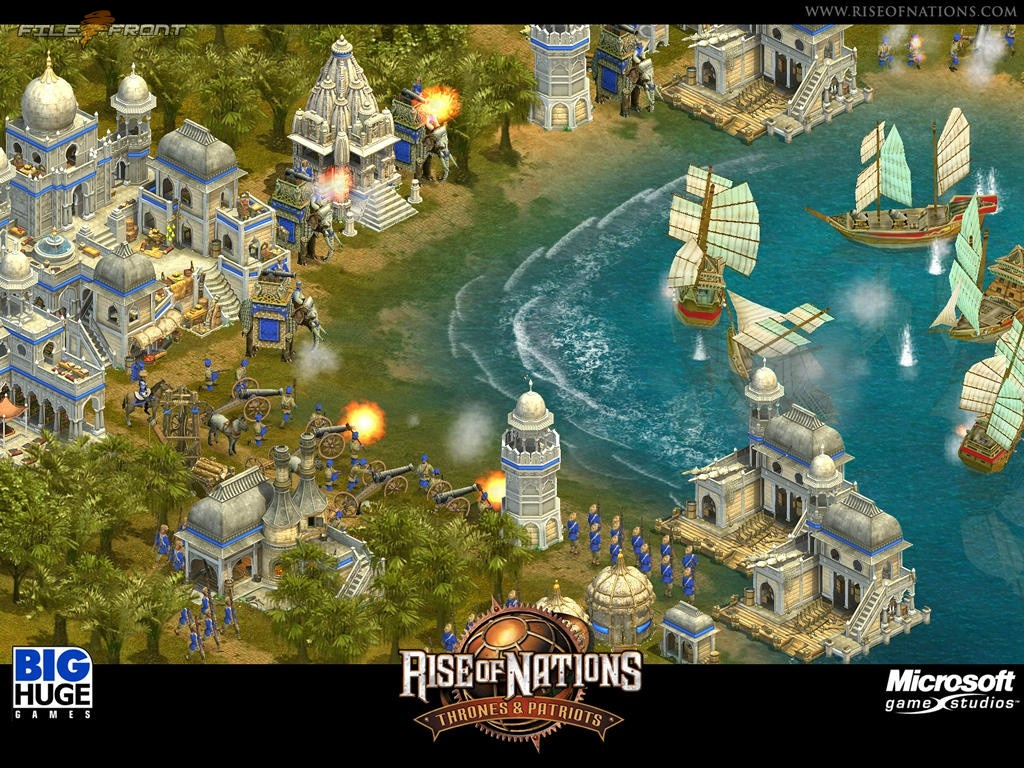 Review Rise Of Nations Game Edukasigame Edukasi