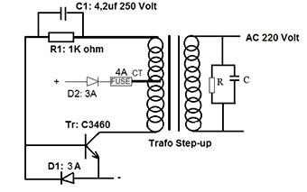 Rangkaian Inverter Dc Ke Ac Tanpa Trafo Inverter Dc Ke Ac