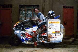 It started with a ride 38,000 km ride through Australia on a Fireblade in '92