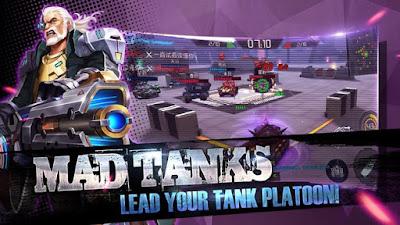 Mad Tanks MOD APK eSports TPS v1.0.48 Original Version Full Update Terbaru 2017 Gratis