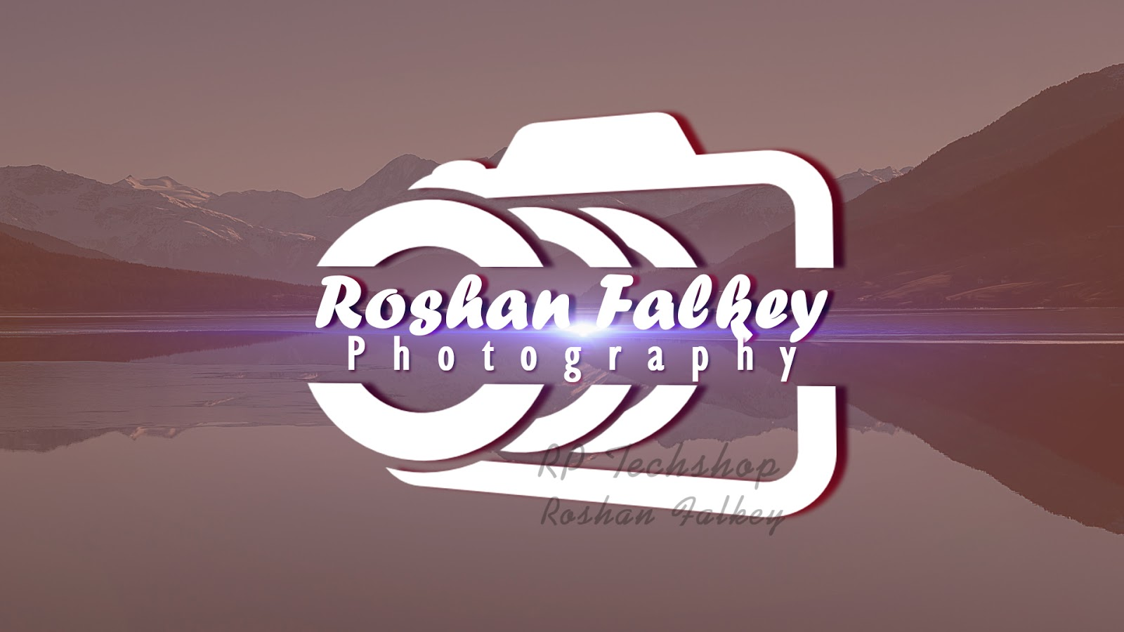 Photography logo design in photoshop rptechshop hello friends in this photoshop tutorial i will show you about photography logo design create your photography logo easily in photoshop baditri Gallery
