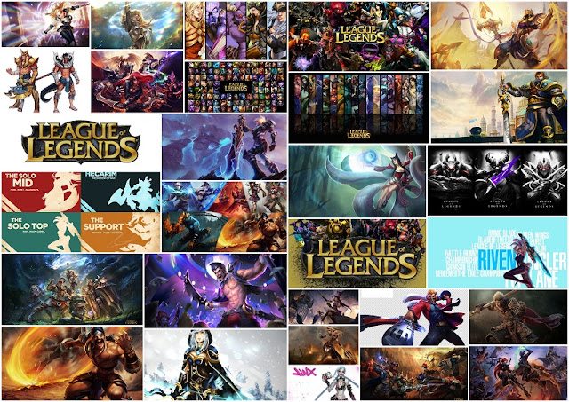 League of Legends: Invitaciones o Fondos para Imprimir Gratis.