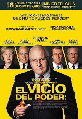 EL VICIO DEL PODER - Cartel España