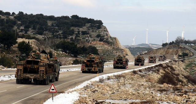 Persempadanan Turki Dan Syria Terus Diperkuatkan Untuk Misi Bantuan