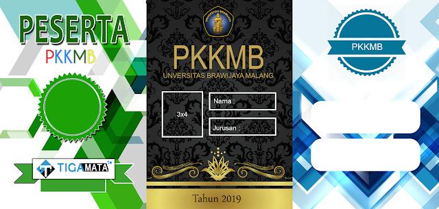3 Contoh ID Card PKKMB Simple, Keren, dan tidak Norak [Docx + PSD]
