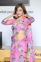 Angela Krislinzki Rogue Movie Fame Telugu Actress in Saree Backless Choli 052.JPG