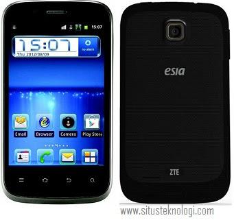 harga hp esia fantasy, spesifikasi handphone android dual sim gsm-cdma zte fantasy N855D, ponsel android layar l3bar 1 jutaan, gambar dan review hp esia fantasy terbaru